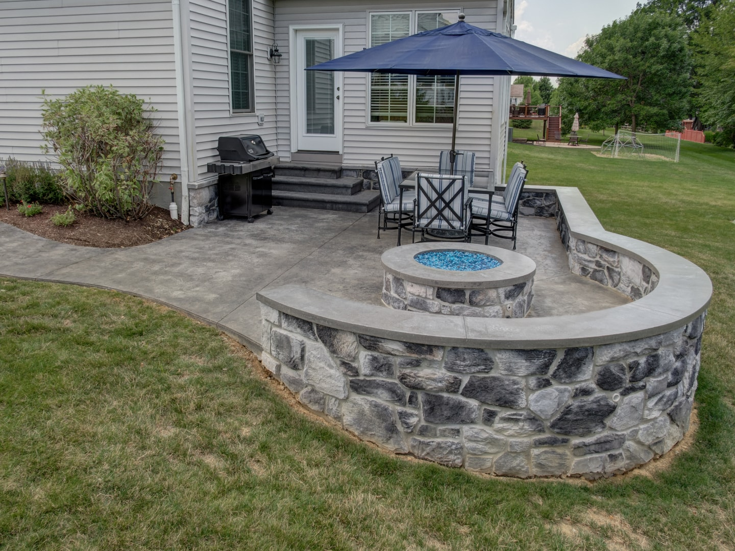 Image of Patio & Fire Pit