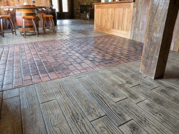 Image of Interior Stamped Concrete