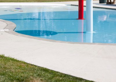 Commercial Concrete - Millersville Lions Club Pool (Millersville PA)