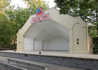 Commercial Concrete - Lititz Springs Park Band Shell (Lititz PA)     /     Project GC - Concrete Authority