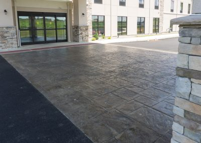 Commercial Concrete - Comfort Suites (Manheim PA)     /     Project GC - Weaver Companies