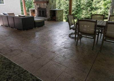 Image of Hand Crafted Patio by Concrete Authority