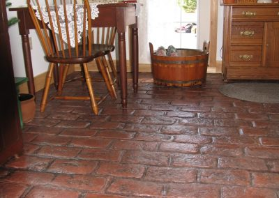 Concrete Authority - Interior Stamped Concrete